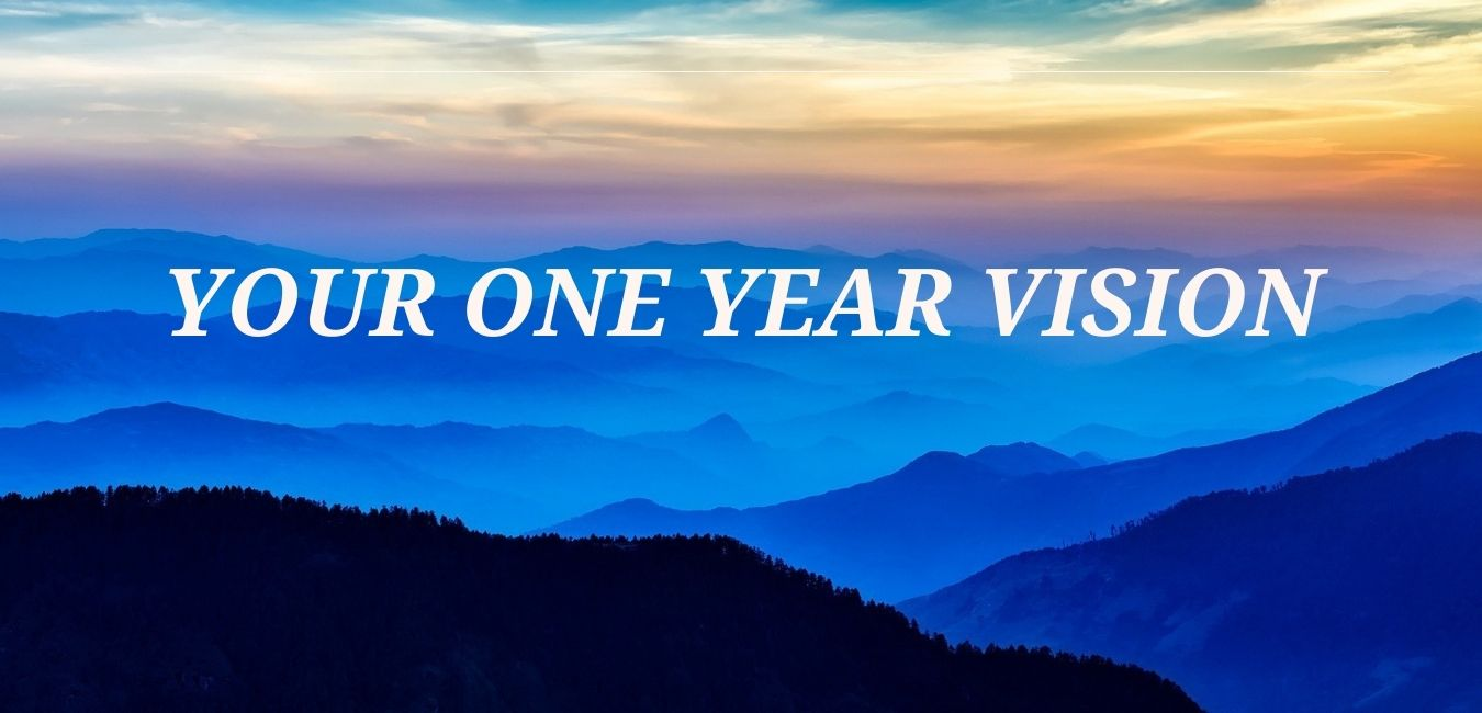 How to Make Your One Year Vision Your Reality